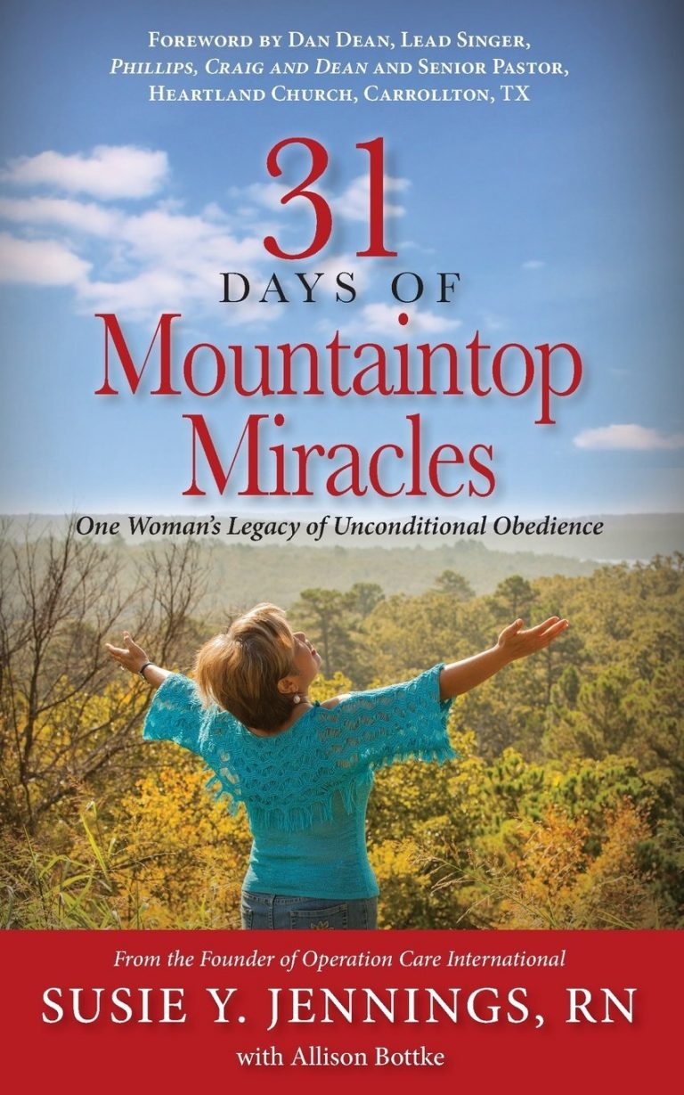 susie jennings 31 days of mountaintop miracles